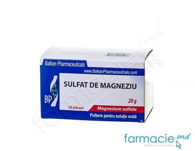 sulfat de magneziu md